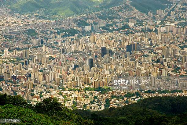 valley of caracas city - caracas stock pictures, royalty-free photos & images
