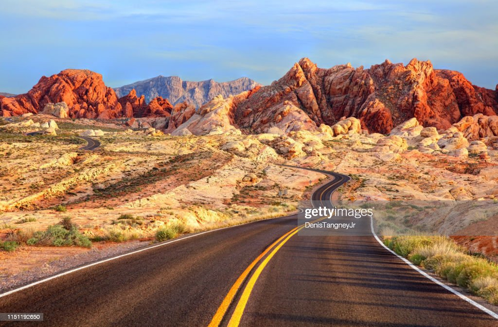 Valley of Fire, Nevada : Stock Photo