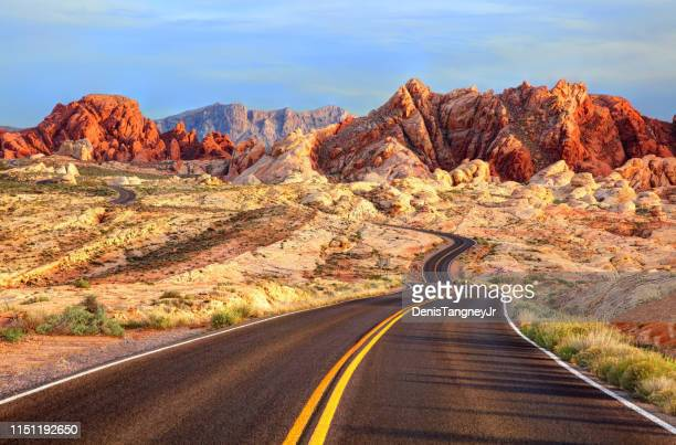 valley of fire, nevada - nevada stock pictures, royalty-free photos & images