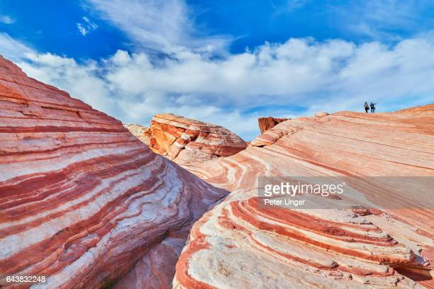 valley of fire state park,nevada,usa - nevada stock-fotos und bilder