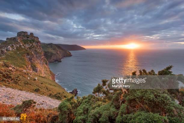 Valley of Rocks Sunset