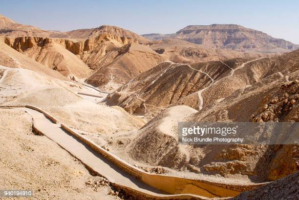 valley of the kings, luxor, egypt - egyptian artifacts stock pictures, royalty-free photos & images