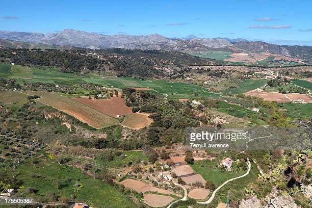 Valley of the Río Guadalévin, Ronda, Spain
