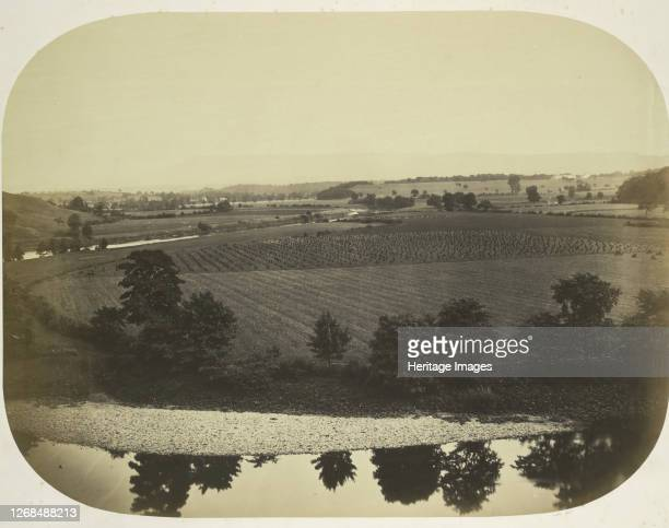 Valley of the Ribble and Pendle Hill, 1859. Artist Roger Fenton.