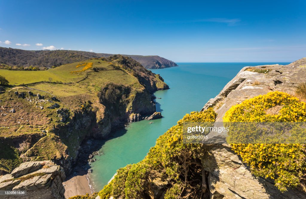 Valley of the Rocks - Exmoor National Park - England : Stock Photo