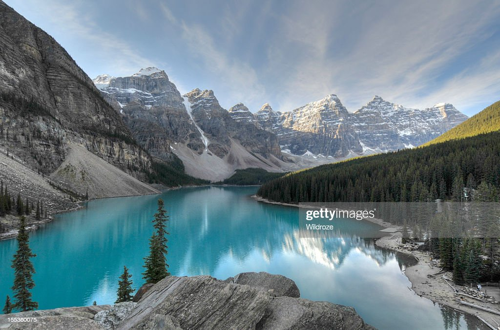 Valley of the Ten Peak,Banff National Park : Stock Photo