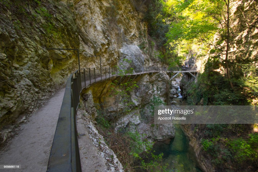 Valley of the Toscolano Maderno paper mills : Stock-Foto