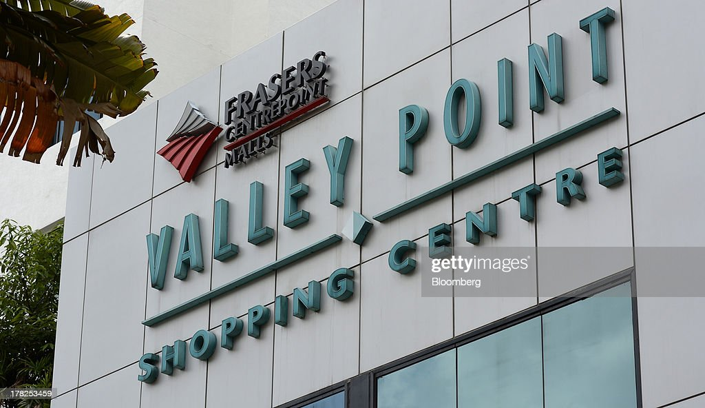 Valley Point Shopping Centre, operated by Fraser & Neave Ltd. (F&N) subsidiary Frasers Centrepoint Ltd., stands in Singapore, on Wednesday, Aug. 28, 2013. Fraser & Neave, controlled by Thailands richest man Charoen Sirivadhanabhakdi, climbed the most in five weeks on plans to spin off its property business through a Singapore listing at the end of the year. Photographer: Munshi Ahmed/Bloomberg via Getty Images
