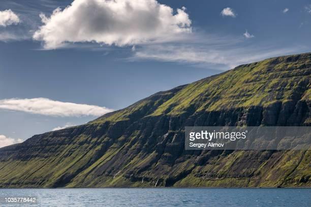 Valley side of fjord in Hornstrandir