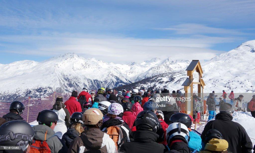Valloire, ski resort. : News Photo