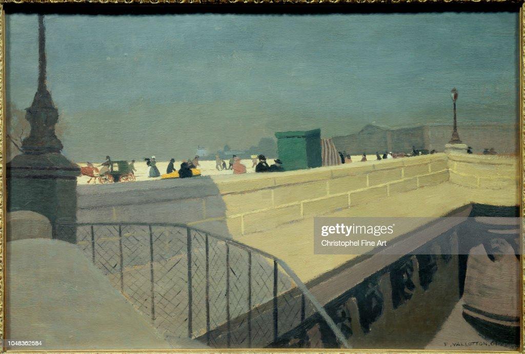 Vallotton Felix The new bridge 1901 Winterthur.Kunstmuseum ...