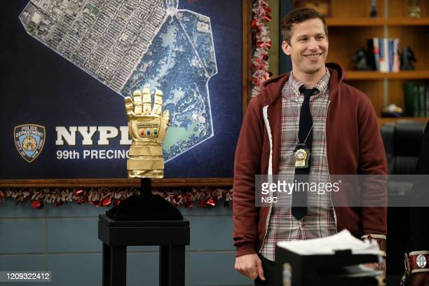 NINE Valloweaster Episode 711 Pictured Andy Samberg as Jake Peralta