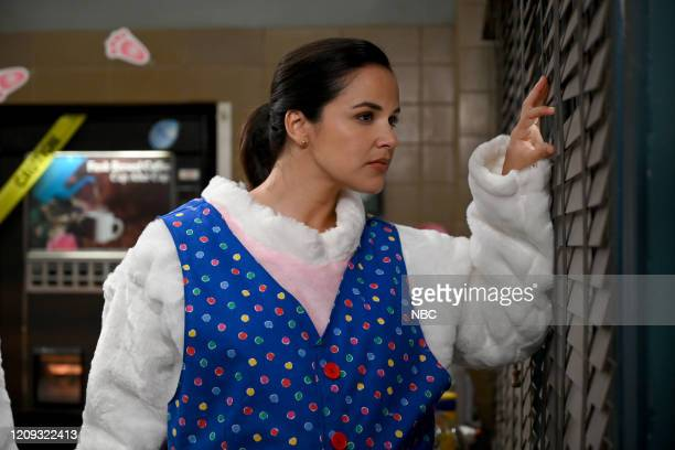 NINE Valloweaster Episode 711 Pictured Melissa Fumero as Amy Santiago