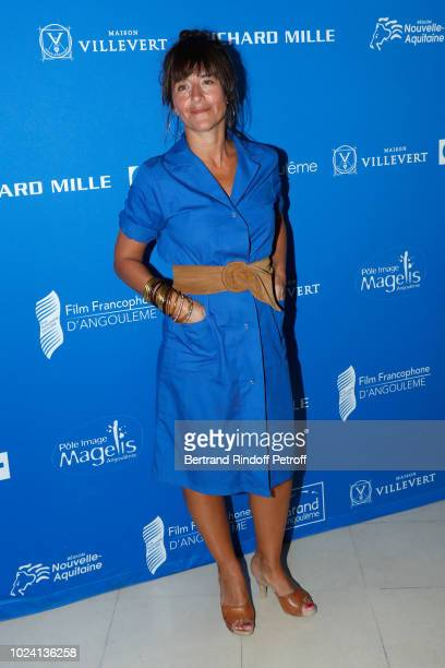 Valois Canal du public for L'Amour flou Romane Bohringer attends the Closing Ceremony of the 11th Angouleme FrenchSpeaking Film Festival on August 26...