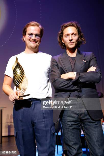 Valois de la musique Myd aka Quentin Lepoutre for Petit paysan Myd aka Quentin Lepoutre and Raphael attend the 10th Angouleme FrenchSpeaking Film...