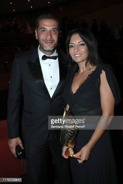 """Valois des etudiants francophones"""" for """"Adam"""", Maryam Touzani , here with her companion Nabil Ayouch attend the Closing Ceremony of the 12th..."""