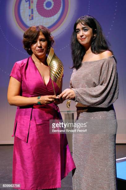 Valois Magelis La belle et la meute of Kaouther Ben Hania Director Kaouther Ben Hania and actress Mariam Al Ferjani attend the 10th Angouleme...