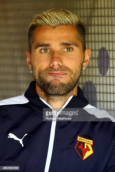 Valon Behrami of Watford looks on during the Pre Season ...