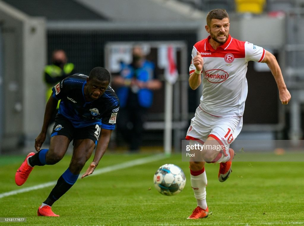 Fortuna Duesseldorf v SC Paderborn 07 - Bundesliga : News Photo