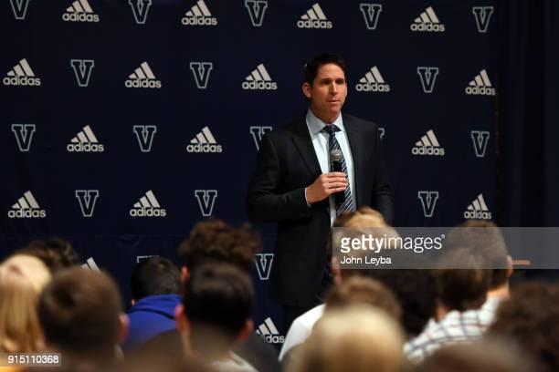 Valor High School announces the hiring of Ed McCaffrey as their new head football coach on February 6 2018 at Valor High School