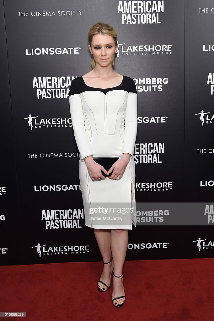 Valorie Curry attends a screening of 'American Pastoral' hosted by Lionsgate, Lakeshore Entertainment and Bloomberg Pursuits at Museum of Modern Art on October 19, 2016 in New York City.