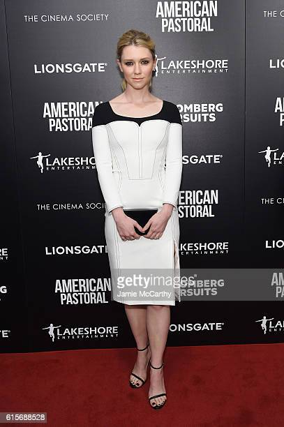 Valorie Curry attends a screening of American Pastoral hosted by Lionsgate Lakeshore Entertainment and Bloomberg Pursuits at Museum of Modern Art on...