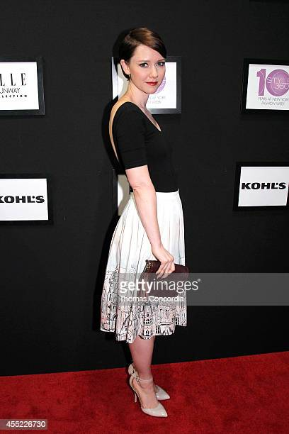 Valorie Curry attends ELLE Runway Collection By Kohl's STYLE360 Spring/Summer 2015 Collections on September 10 2014 in New York City