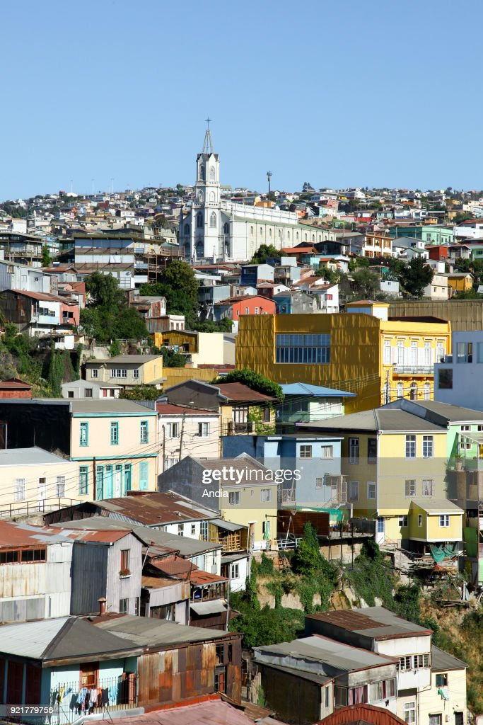 Valparaiso (Chile), city registered as a UNESCO World Heritage Site.