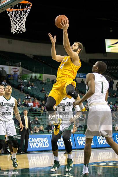 Valparaiso Crusaders G Shane Hammink shoots during the second half of the NCAA Men's Basketball game between the Valparaiso Crusaders and Cleveland...