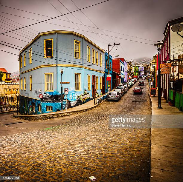 CONTENT] Valparaiso is a seaside town north of Santiago Famed for it's coloured buildings on the hillside World Heritage status
