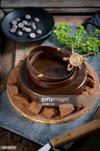 Valrhona Tart Chocolate