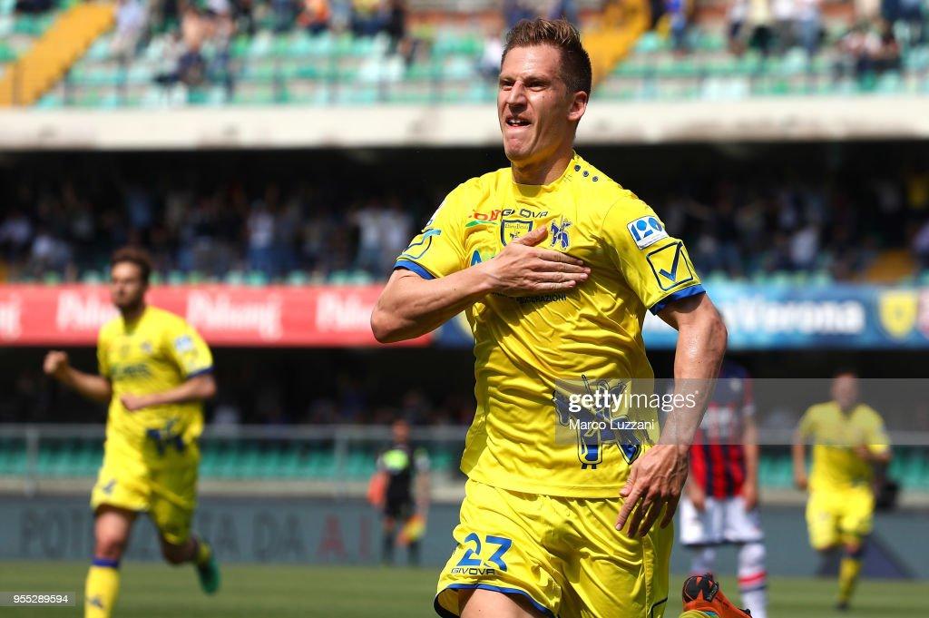 AC Chievo Verona v FC Crotone - Serie A : ニュース写真