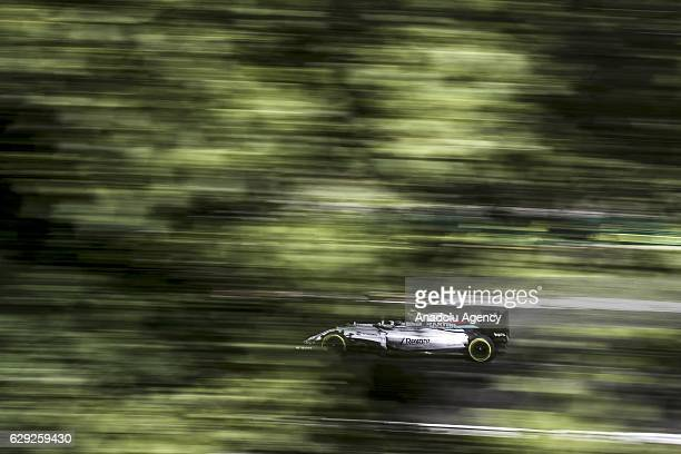 Valteri Bottas of Finnland drives the Williams during practice for the Formula One Grand Prix of Hungary at Hungaroring on July 22 2016 in Budapest...