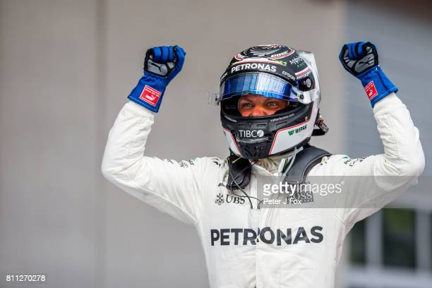 Valterri Bottas of Mercedes and Finland during the Formula One Grand Prix of Austria at Red Bull Ring on July 9 2017 in Spielberg Austria