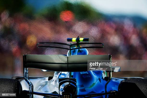 Valterri Bottas of Mercedes and Finland during the Spanish Formula One Grand Prix at Circuit de Catalunya on May 14 2017 in Montmelo Spain