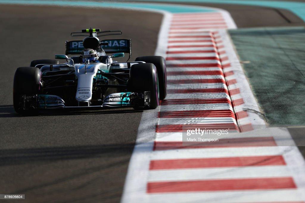 F1 Grand Prix of Abu Dhabi - Qualifying : News Photo