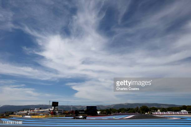 Valtteri Bottas driving the Mercedes AMG Petronas F1 Team Mercedes W10 on track during the F1 Grand Prix of France at Circuit Paul Ricard on June 23,...