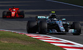 shanghai china valtteri bottas driving mercedes