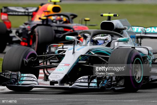 Valtteri Bottas driving the Mercedes AMG Petronas F1 Team Mercedes WO9 on track during the Canadian Formula One Grand Prix at Circuit Gilles...