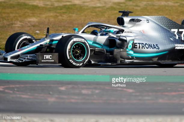 Valtteri Bottas during the winter test days at the Circuit de Catalunya in Montmelo February 18 2019