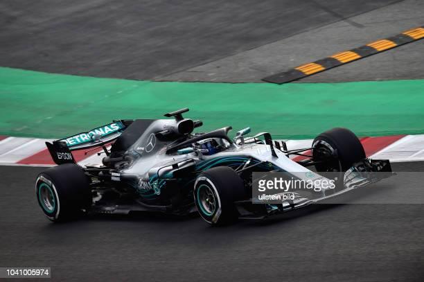 Valtteri Bottas; Mercedes Grand Prix, formula 1 GP, Test, Barcelona Spanien,