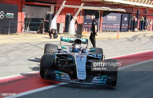 Valtteri Bottas; Mercedes Grand Prix, formula 1 GP, Test Spanien, Barcelona,