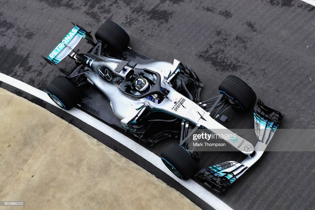 Mercedes Formula One Team Launch 2018 Car