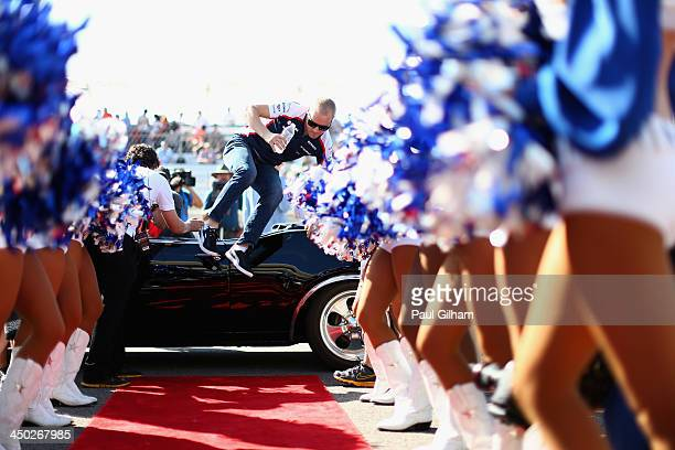 Valtteri Bottas of Finland and Williams attends the drivers parade before the United States Formula One Grand Prix at Circuit of The Americas on...