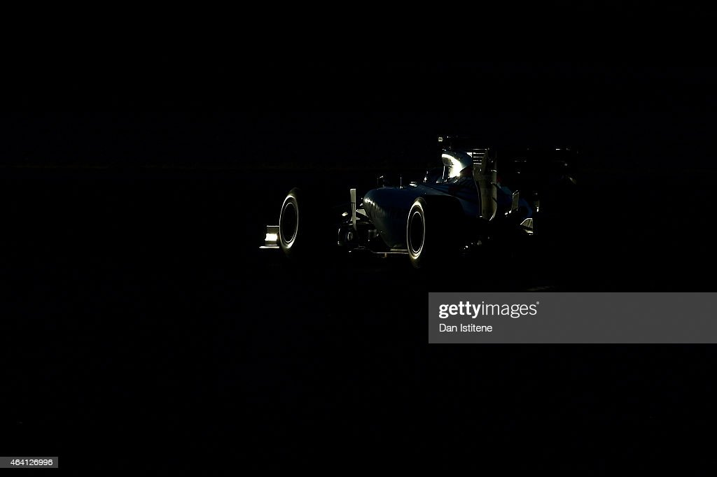 Valtteri Bottas of Finland and Williams drives during day four of Formula One Winter Testing at Circuit de Catalunya on February 22, 2015 in Montmelo, Spain.