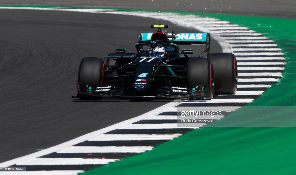 F1 Grand Prix of Great Britain - Practice : News Photo
