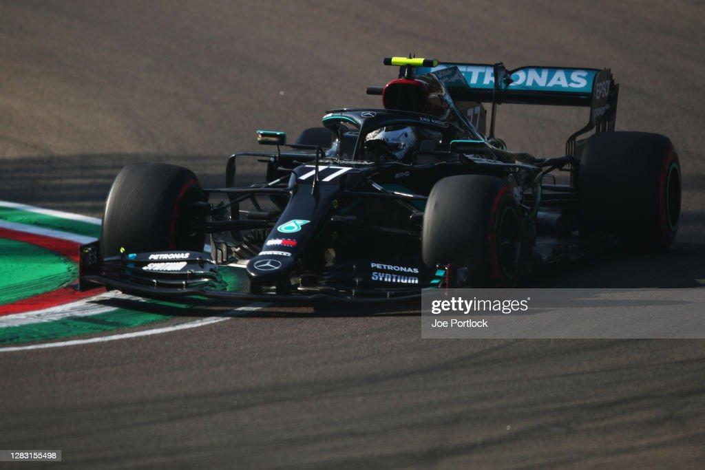 F1 Grand Prix of Emilia Romagna - Practice & Qualifying : News Photo