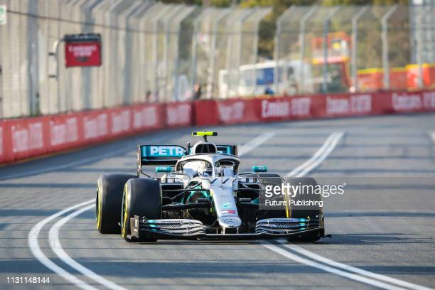 Valtteri BOTTAS of MercedesAMG Petronas Motorsport on his way to winning the 2019 Formula 1 Australian Grand Prix