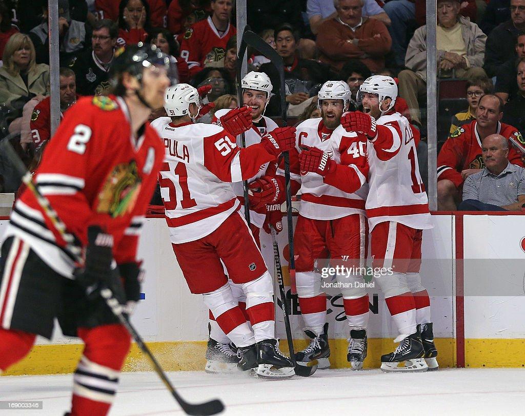 Detroit Red Wings v Chicago Blackhawks - Game Two