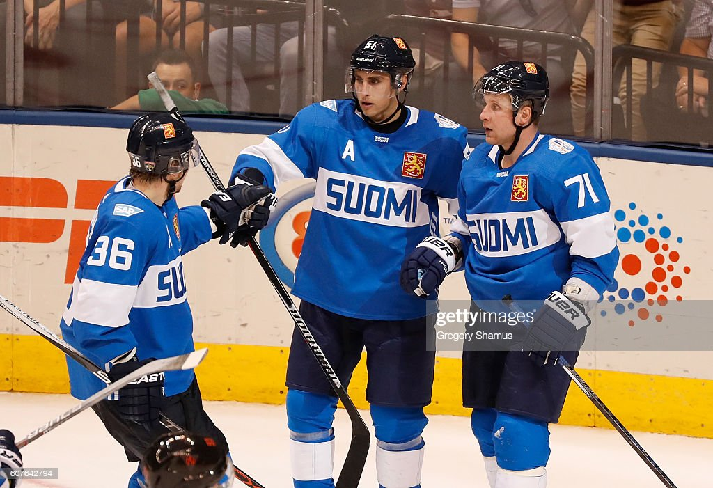 World Cup Of Hockey 2016 - Team North America v Findland : News Photo
